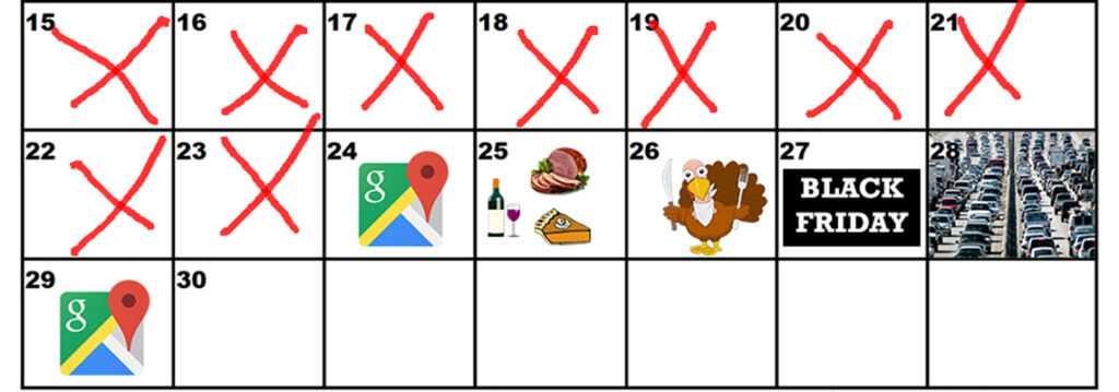 Thanksgiving Search Trends