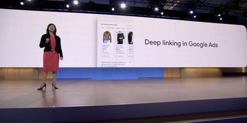 Google Ads Deep Linking